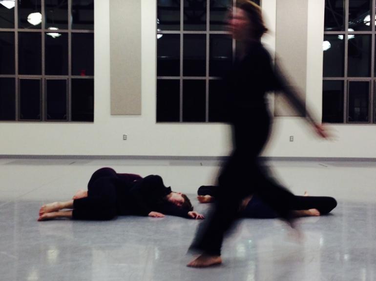 Ani Javian rehearsal, pictured Sabrina Lumbert and Shannon Drake. photo by nicole