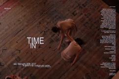 time in flier